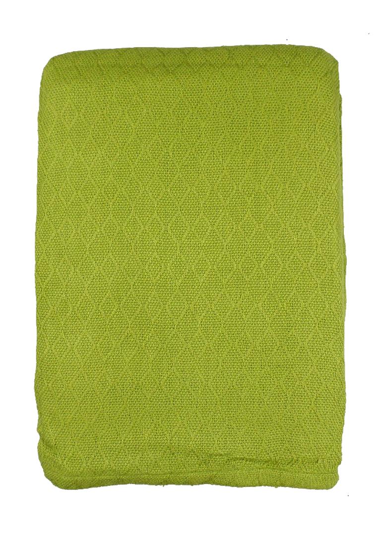 Покрывало Arloni, цвет: зеленый, 225 х 250 см. 82-101578886Покрывало Arloni изготовлено из экологически чистых материалов: хлопка (50%) и бамбука (50%), поэтому подходит как для взрослых, так и для детей.Оно будет хорошо смотреться и на диване, и на большой кровати.Покрывало Arloni не только подарит тепло, но и гармонично впишется винтерьер вашего дома.