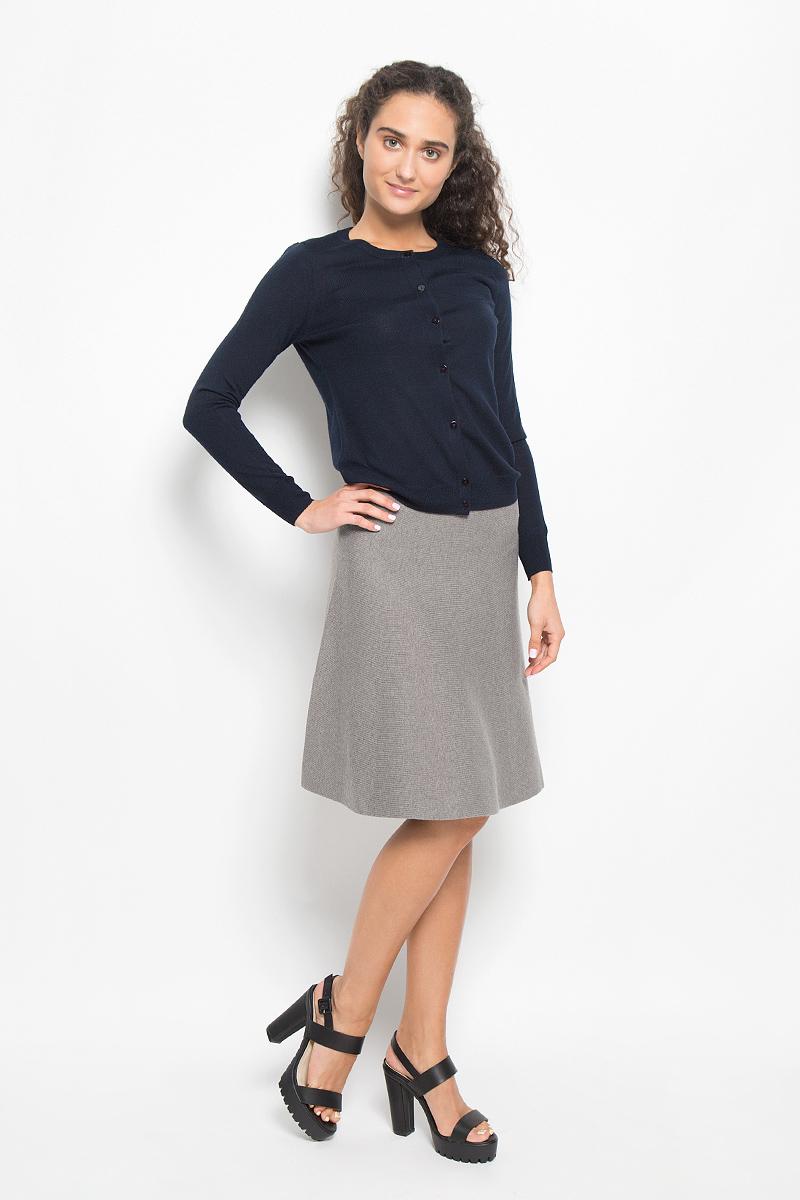 Юбка Sela, цвет: серо-коричневый меланж. SKsw-118/857-6373. Размер L (48)SKsw-118/857-6373Модная юбка Sela, выполненная из полиэстера, нейлона и шерсти, обеспечит вам комфорт и удобство при носке. Вязанная юбка-миди А-силуэта дополнена на поясе с внутренней стороны эластичной резинкой. Модель не имеет застежек. Модная юбка-миди выгодно освежит и разнообразит ваш гардероб. Создайте женственный образ и подчеркните свою яркую индивидуальность!