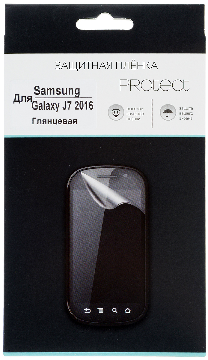 все цены на Protect защитная пленка для Samsung Galaxy J7 (2016), глянцевая онлайн