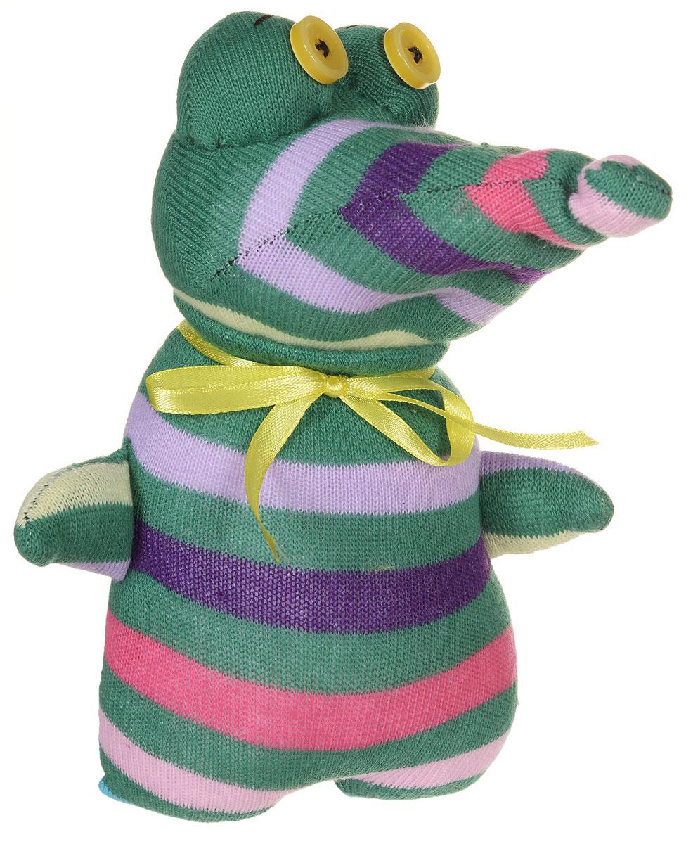 Авторская игрушка - носуля YusliQ Крокодил . Ручная работа. kuri35, Мягкие игрушки  - купить со скидкой