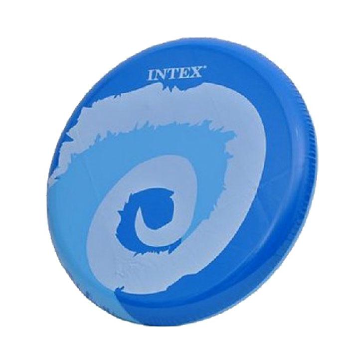 Intex Летающий диск Кидай и крути цвет синий