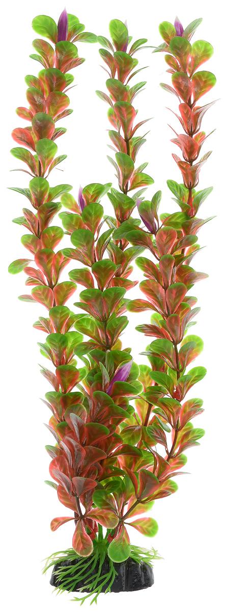 """Растение для аквариума Barbus """"Людвигия ползучая (красная)"""", пластиковое, высота 30 см"""