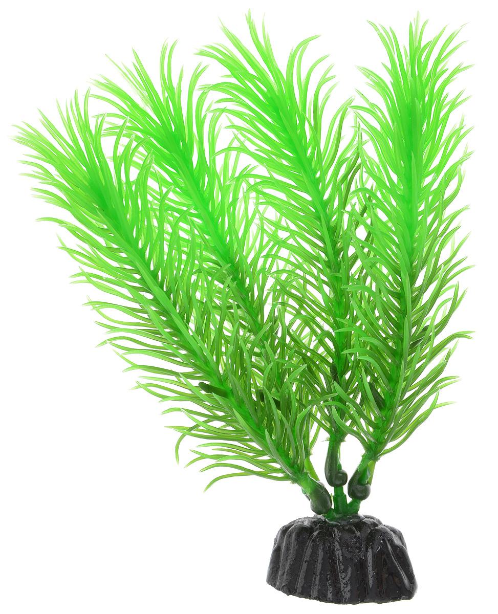Растение для аквариума Barbus Перистолистник зеленый, пластиковое, высота 10 см скребок для аквариума хаген складной