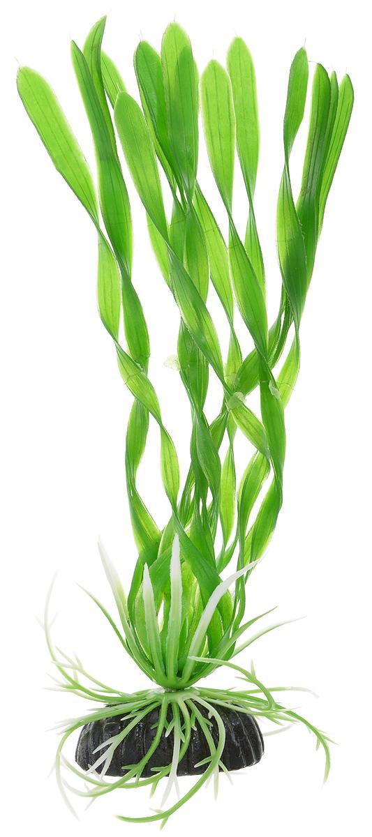 Растение для аквариума Barbus Валлиснерия спиральная, пластиковое, высота 20 см скребок для аквариума хаген складной