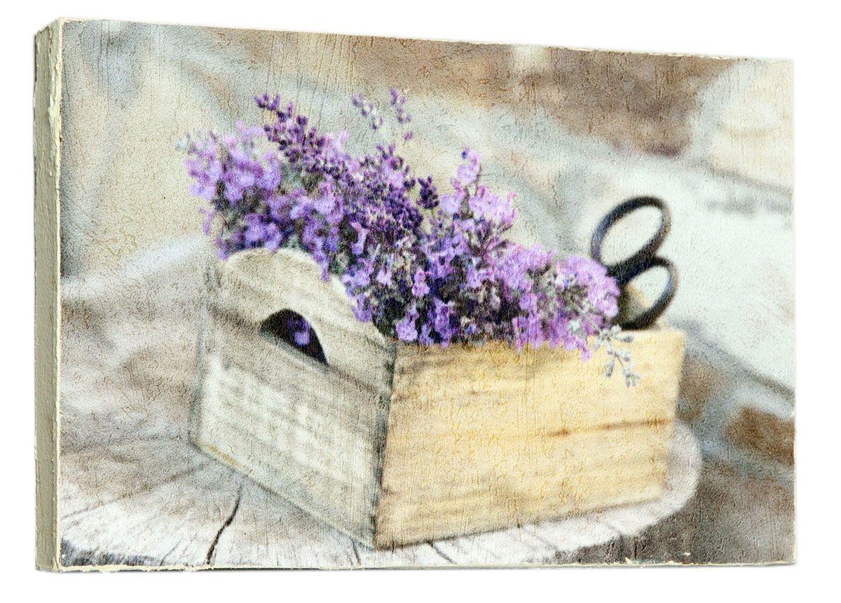 Картина Букетик лаванды, 14,5 х 22 см0073-15-22