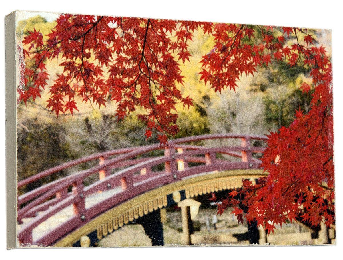 Картина Японский мост, 14,5 х 22 см0228-15-22