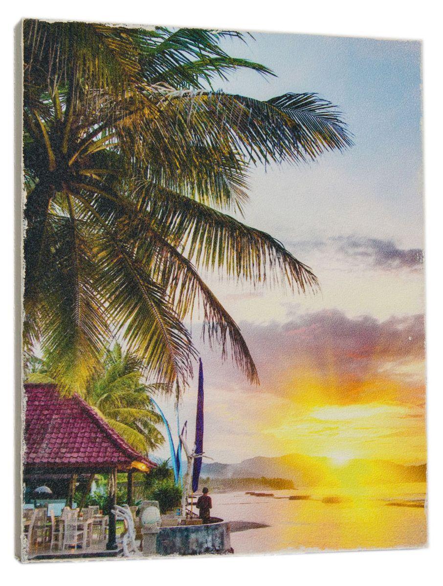 Картина Mister Poster Бунгало на берегу океана, 24 х 32 см0312-24-32Картина Mister Poster - это высококачественная репродукция на деревянной раме. Лицевая поверхность имитирует штукатурку или натуральный холст, края окрашены вручную специальным декоративным составом.Современные технологии, уникальное оборудование и оригинальные чернила, используемые при изготовлении, делают постер устойчивым к выцветанию, а также гарантируют стойкость к воздействию негативных внешних факторов. Интерьер дома и офиса, в котором находится человек, в значительной степени влияет на его настроение и работоспособность. Правильное оформление интерьера создает благоприятный психологический климат, улучшает настроение и мотивирует. Добавьте «красок» в ваш интерьер и, возможно, в вашу жизнь.