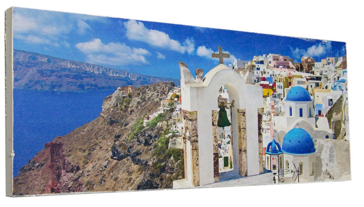 Картина Mister Poster Ярко-синий остров Крит, 60 х 24 см0340-24-60Картина Mister Poster - это высококачественная репродукция на деревянной раме. Лицевая поверхность имитирует штукатурку или натуральный холст, края окрашены вручную специальным декоративным составом.Современные технологии, уникальное оборудование и оригинальные чернила, используемые при изготовлении, делают постер устойчивым к выцветанию, а также гарантируют стойкость к воздействию негативных внешних факторов. Интерьер дома и офиса, в котором находится человек, в значительной степени влияет на его настроение и работоспособность. Правильное оформление интерьера создает благоприятный психологический климат, улучшает настроение и мотивирует. Добавьте «красок» в ваш интерьер и, возможно, в вашу жизнь.