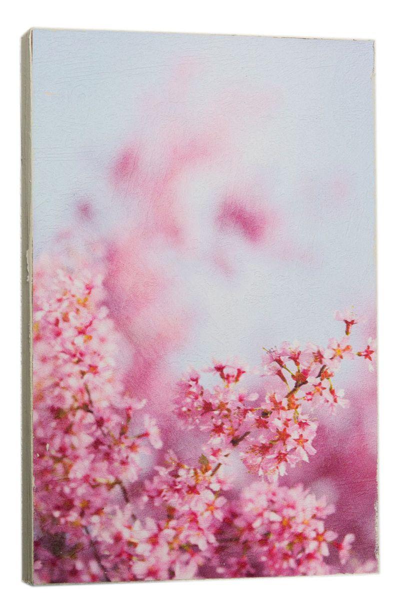 Картина Розовые вишни сакуры, 14,5 х 22 см0427-15-22