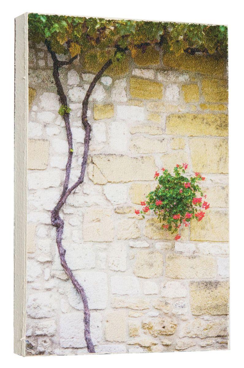 Картина Mister Poster Каменная стена с цветущим деревом, 14,5 х 22 см0739-15-22Картина Mister Poster - это высококачественная репродукция на деревянной раме. Лицевая поверхность имитирует штукатурку или натуральный холст, края окрашены вручную специальным декоративным составом.Современные технологии, уникальное оборудование и оригинальные чернила, используемые при изготовлении, делают постер устойчивым к выцветанию, а также гарантируют стойкость к воздействию негативных внешних факторов. Интерьер дома и офиса, в котором находится человек, в значительной степени влияет на его настроение и работоспособность. Правильное оформление интерьера создает благоприятный психологический климат, улучшает настроение и мотивирует. Добавьте «красок» в ваш интерьер и, возможно, в вашу жизнь.