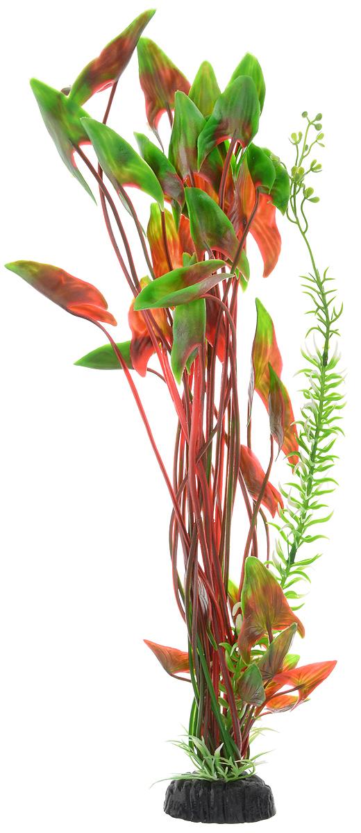 Растение для аквариума Barbus Водная калла, пластиковое, высота 50 см обогреватель для аквариума barbus новое поколение с терморегулятором 50 вт длина шнура 150 см