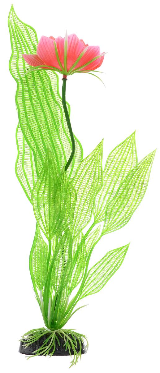 Растение для аквариума Barbus Апоногетон Мадагаскарский с цветком, пластиковое, высота 30 смPlant 023/30Растение для аквариума Barbus Апоногетон Мадагаскарский с цветком, выполненное из качественного пластика, станет оригинальным украшением вашего аквариума. Пластиковое растение идеально подходит для дизайна всех видов аквариумов. Оно абсолютно безопасно, не токсично, нейтрально к водному балансу, устойчиво к истиранию краски, подходит как для пресноводного, так и для морского аквариума. Растение для аквариума Barbus поможет вам смоделировать потрясающий пейзаж на дне вашего аквариума или террариума. Высота растения: 30 см.