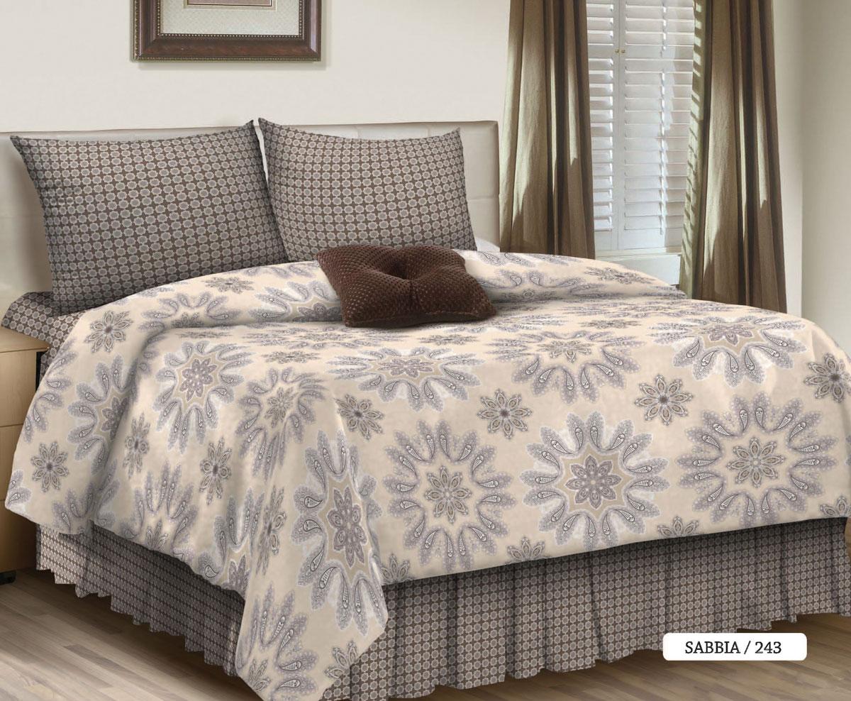 Комплект белья Seta Sabbia, 1,5-спальный, наволочки 50x70016512243Поплиновое постельное бельё от компании Seta имеет ряд несомненных достоинств: оно хорошо сохраняет форму и цвет, имеет приятную на ощупь поверхность, хорошо удерживает тепло и впитывает влагу. Кроме этого, комплекты постельного белья из поплина не требуют специального ухода: их можно стирать в стиральной машине при температуре до 60°C и утюжить при температуре до 110°C. Ткань поплин гипоаллергенна, отвечает всем европейским экологическим стандартам. И, наконец, такое постельное бельё при всех своих высоких эксплуатационных качествах стоит относительно недорого, изготовлено из 100 % хлопка.