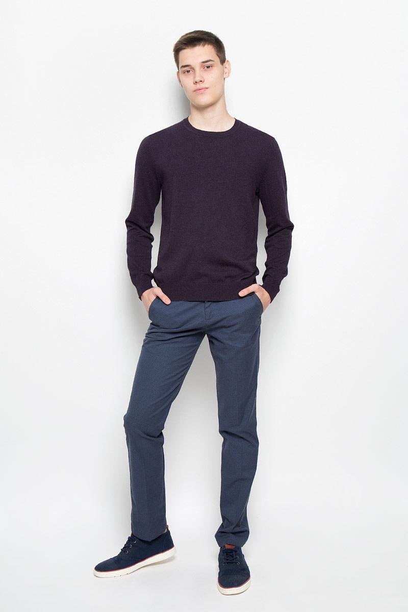 Джемпер мужской Baon, цвет: темно-фиолетовый. B636589. Размер L (50) шорты baon р l 50