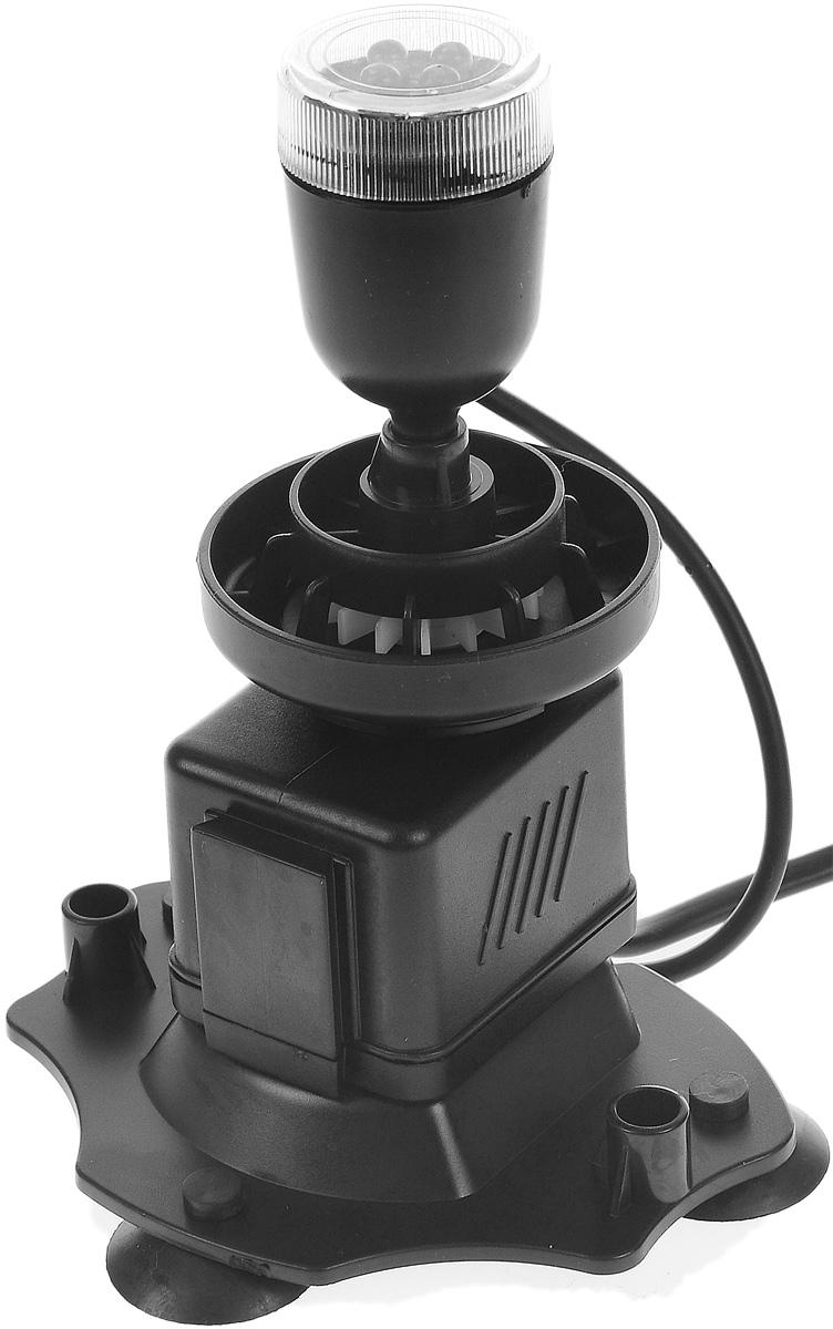 Аэратор Barbus Подводный вулкан, с подсветкой, 6 ВтWP-2222APАэратор Barbus Подводный вулкан предназначен для насыщения аквариума воздухом, кислородом, циркуляции воды. Изделие оснащено светодиодной подсветкой с 4 лампами. Корпус-трансформер позволяет использовать мощные присоски с любой стороны аквариума.Мощность: 6 Вт.Напряжение: 220-240В.Частота: 50/60 Гц.