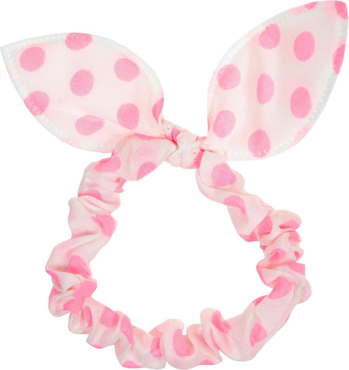 Magic Leverage Резинка для волос, цвет: белый, розовый