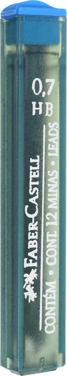 Faber-Castell Графитные грифели Polymer 12 шт521700Графитные грифели Faber-Castell Polymer подходят для механических карандашей любой марки. Они оставляют на бумаге четкий черный след, не размазываются, обладают ударопрочностью и экономно расходуются. В наборе 12 заточенных грифелей, упакованных в пластиковый футляр для удобного хранения.