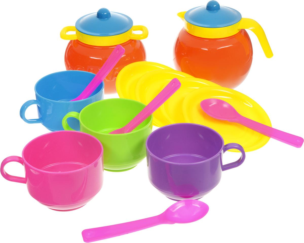 Stellar Игрушечный набор посуды Чайный 14 предметов