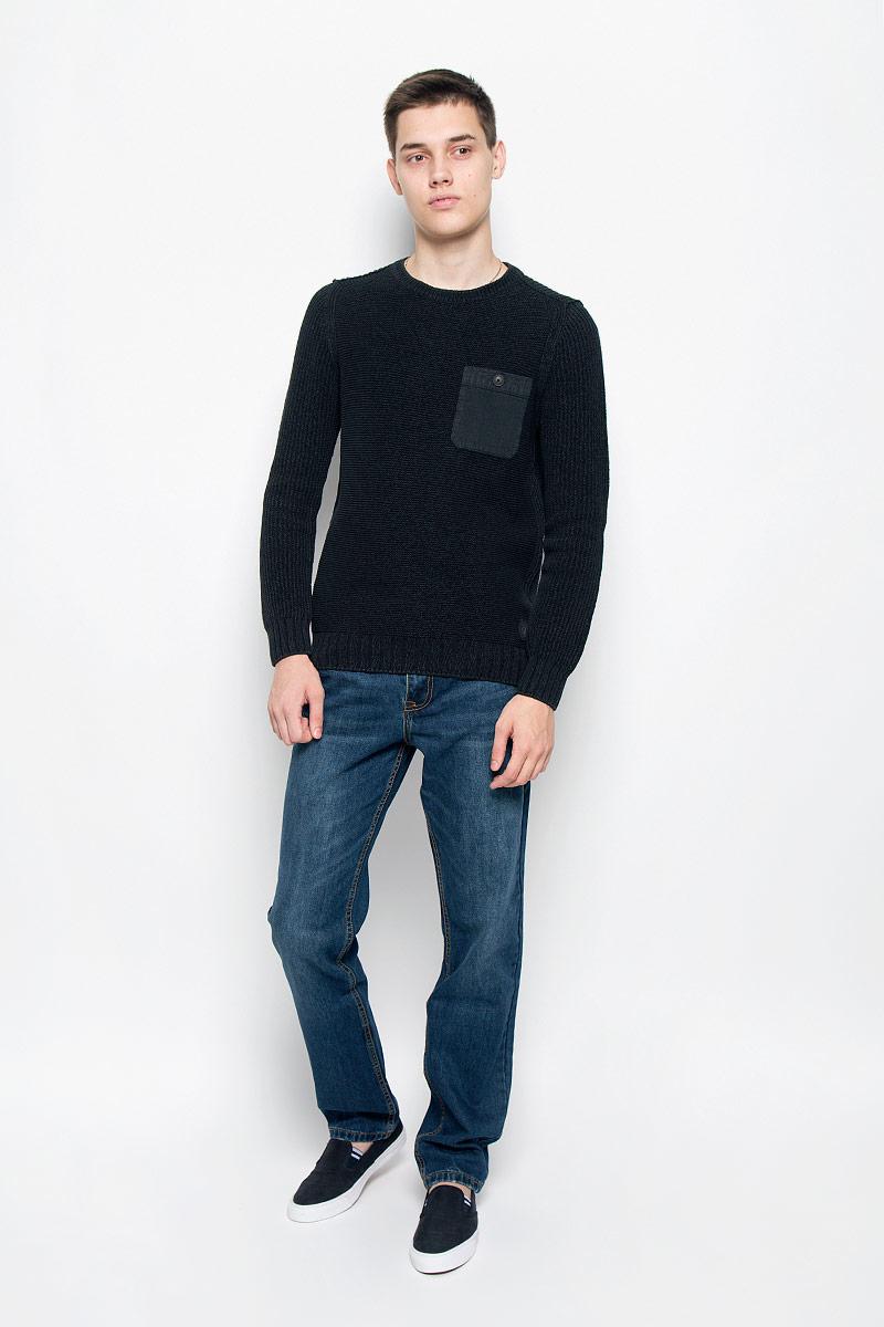Джемпер мужской Marc O'Polo, цвет: черный. 603060648/975. Размер M (46) джемпер мужской marc o polo цвет серый 507460646 936 размер m 46