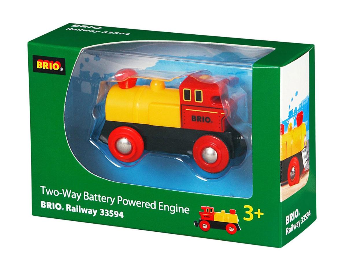 Brio Паровоз с двусторонним движением - Железные дороги