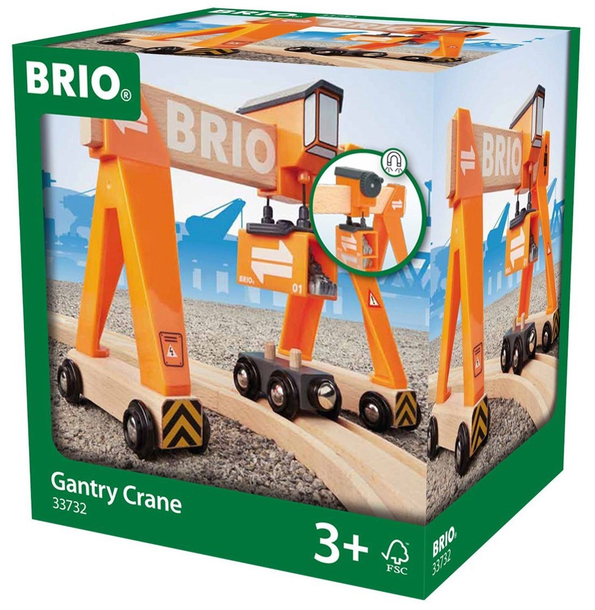 Brio Портальный кран с вагоном
