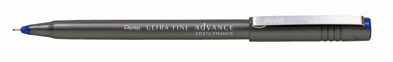 Pentel Ручка капиллярная Ultra Fine цвет корпуса черныйPSD570-CКапиллярная ручка Pentel Ultra Fine имеет прочный иглообразный пластиковый пишущий узел. Основой ручки является синтетический стержень, который пропитан специальными чернилами. Пластиковый корпус ручки дополнен металлическим клипом на колпачке.