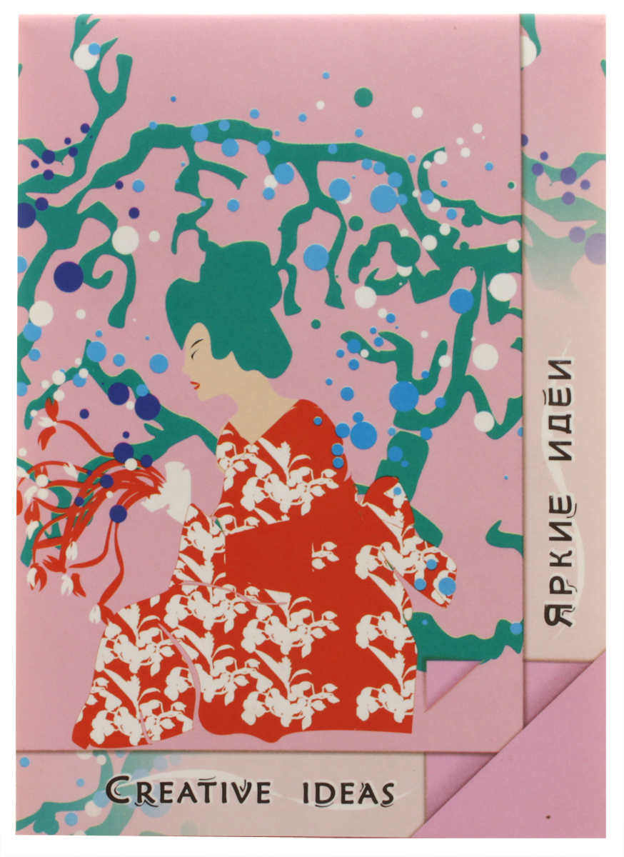 Лилия Холдинг Блокнот Pink 20 листовKCO-30-671669Блокнот Лилия Холдинг Pink из серии Creative Ideas отлично подойдет для фиксирования ярких идей. Обложка выполнена из высококачественного картона. Блокнот имеет клеевой переплет. Внутренний блок содержит 20 листов цветной бумаги без разметки.