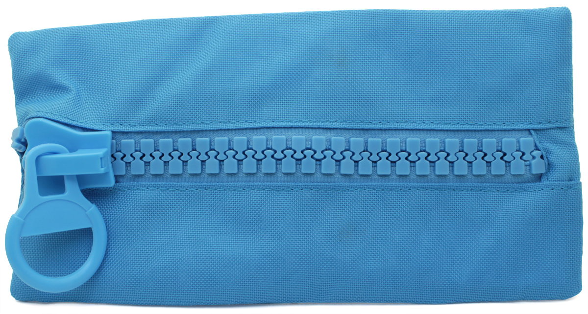 Brunnen Пенал BigZip цвет голубой49031-32\319733Пенал Brunnen BigZip изготовлен из качественного материала. Он удобен для разных мелочей и пишущих принадлежностей. Пенал застегивается на крупную пластиковую молнию.