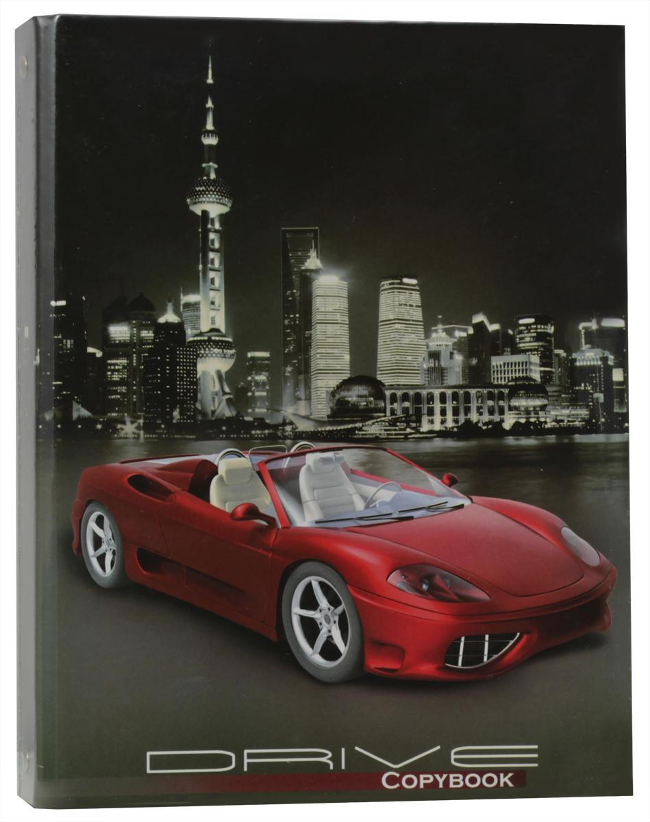 Фото Феникс+ Тетрадь Красное авто 160 листов в клетку