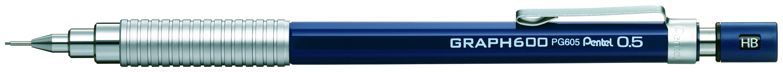 Pentel Карандаш механический Graph 600 цвет корпуса серебристый черный постников валентин юрьевич карандаш и самоделкин