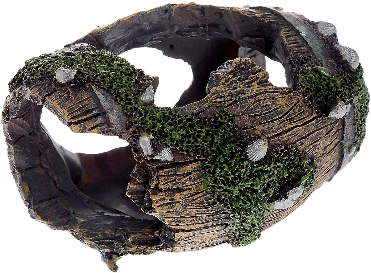 Декорация для аквариума Barbus Бочка, 9,5 х 7 х 7,5 смDecor 053Декорация для аквариума Barbus Бочка, выполненная из высококачественного нетоксичного полирезина, станет прекрасным украшением вашего аквариума. Изделие отличается реалистичным исполнением с множеством мелких отверстий. Ведь многие обитатели аквариума используют декорации как укрытия, в которых они живут и размножаются. Декорация абсолютно безопасна, нейтральна к водному балансу, устойчива к истиранию краски, подходит как для пресноводного, так и для морского аквариума. Благодаря декорациям Barbus вы сможете смоделировать потрясающий пейзаж на дне вашего аквариума или террариума.