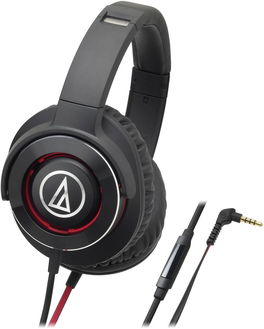 Audio-Technica ATH-WS770iS, Black Red наушники