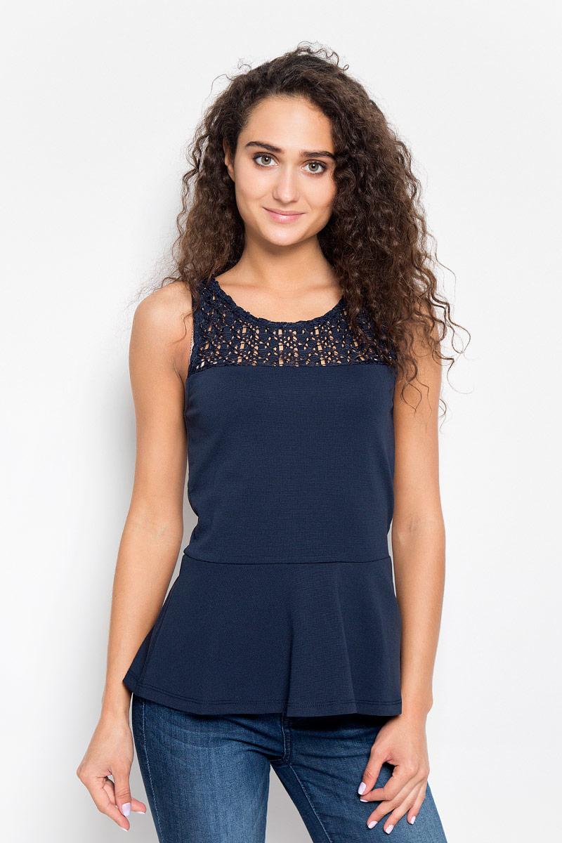 Блузка женская Tom Tailor Denim, цвет: темно-синий. 1035527.00.71_6901. Размер L (48) cuetec 26 002 62 page 4