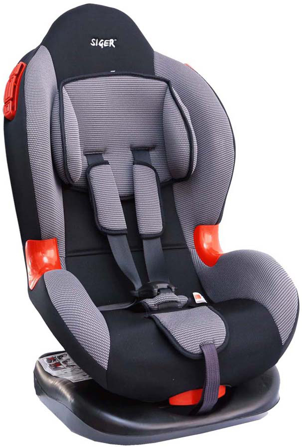Siger Автокресло Кокон цвет серый от 9 до 25 кгKRES0113Детское автокресло Siger Кокон разработано для детей от 1 года до 7 лет, весом от 9 до 25 кг. Относится к возрастной группе 1/2.Автокресло имеет выраженную тыльную и боковую защиты, что обеспечивает безопасность при резких поворотах и боковых ударах. Замок внутренних ремней безопасности обладает повышенной надежностью, внутренние ремни регулируются по высоте в зависимости от роста ребенка. Для детишек в возрасте от 1 до 4 лет можно регулировать наклон кресла в шести положениях.Мягкий подголовник, специальная ортопедическая спинка и накладки внутренних ремней повышают уровень комфорта во время поездки. Специальные пластиковые накладки и направляющие штатного ремня гарантируют правильное прохождение ремня безопасности. Износостойкий съемный чехол выполнен из нетоксичного гипоаллергенного материала.Детские удерживающие устройства Siger разработаны и выполнены в России с учетом анатомии российских детей. Двухпозиционная регулировка центральной лямки позволяет адаптировать внутренние ремни под зимнюю и летнюю одежду ребенка.Автокресло успешно прошло все необходимые краш-тесты и имеет сертификат соответствия техническому регламенту РФ и таможенному союзу. В детском автомобильном кресле Siger ваш ребенок будет путешествовать в безопасности и с удовольствием!