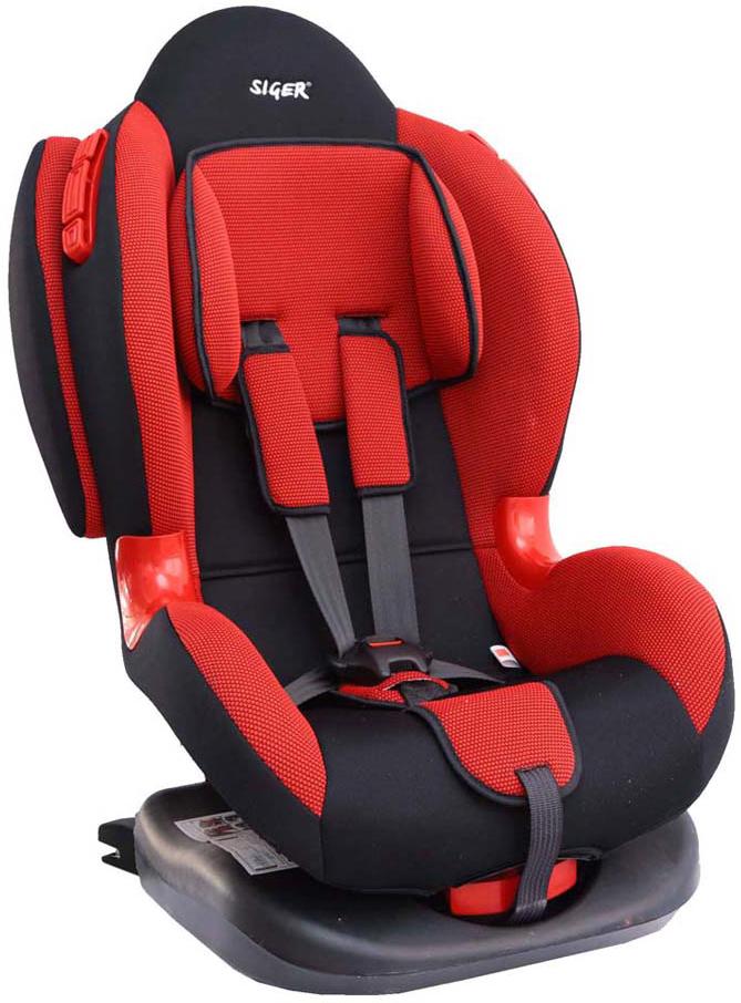 Siger Автокресло Кокон IsoFix цвет красный от 9 до 25 кг - Автокресла и аксессуары