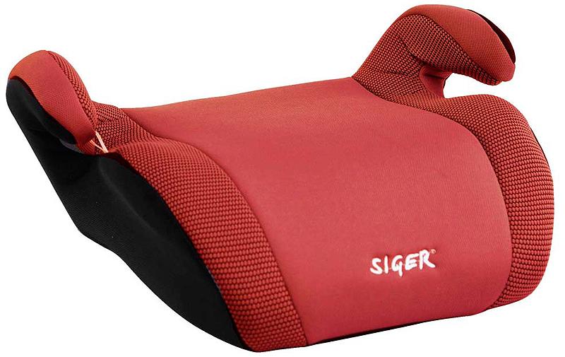 Siger Бустер Мякиш плюс цвет красный от 22 до 36 кгKRES0019Автокресло Siger Мякиш плюс относится к возрастной группе 3, для детей от 6 до 12 лет, весом от 22 до 36 кг.В основе кресла Siger Мякиш плюс усиленный каркас. Износостойкий съемный чехол выполнен из нетоксичного гипоаллергенного материала, легко стирается. Ортопедическая форма сиденья создает дополнительное удобство во время поездки.Детские удерживающие устройства Siger разработаны и изготовлены в России с учетом анатомии российских детей. Увеличенное посадочное место обеспечивает удобство в поездке, как в летней, так и в зимней одежде. Автокресло успешно прошло все необходимые тесты и имеет сертификат соответствия техническому регламенту РФ и таможенному союзу.