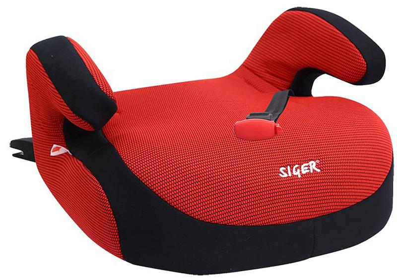 Siger Бустер Fix цвет красный от 22 до 36KRES0185Автокресло Siger Бустер Fix относится к возрастной группе 3, для детей от 6 до 12 лет, весом от 22 до 36 кг.Специальный мягкий чехол обеспечивает ребенку комфорт во время путешествия. Покатый передний край сиденья позволит избежать излишнего давления на ноги ребенка.В основе кресла Siger Бустер FIX усиленный каркас. Чехол выполнен из нетоксичного гипоаллергенного материала. Направляющая лямка с фиксатором корректирует направление штатного ремня безопасности.За счет европейской системы крепления Isofix достигается безошибочная установка кресла в два щелчка. Автокресло крепится к силовому каркасу автомобиля, что обеспечивает повышенную безопасность.Детские удерживающие устройства Siger разработаны и изготовлены в России с учетом анатомии российских детей. Увеличенное посадочное место обеспечивает удобство в поездке, как в летней, так и в зимней одежде. Автокресло успешно прошло все необходимые тесты и имеет сертификат соответствия техническому регламенту РФ и таможенному союзу.