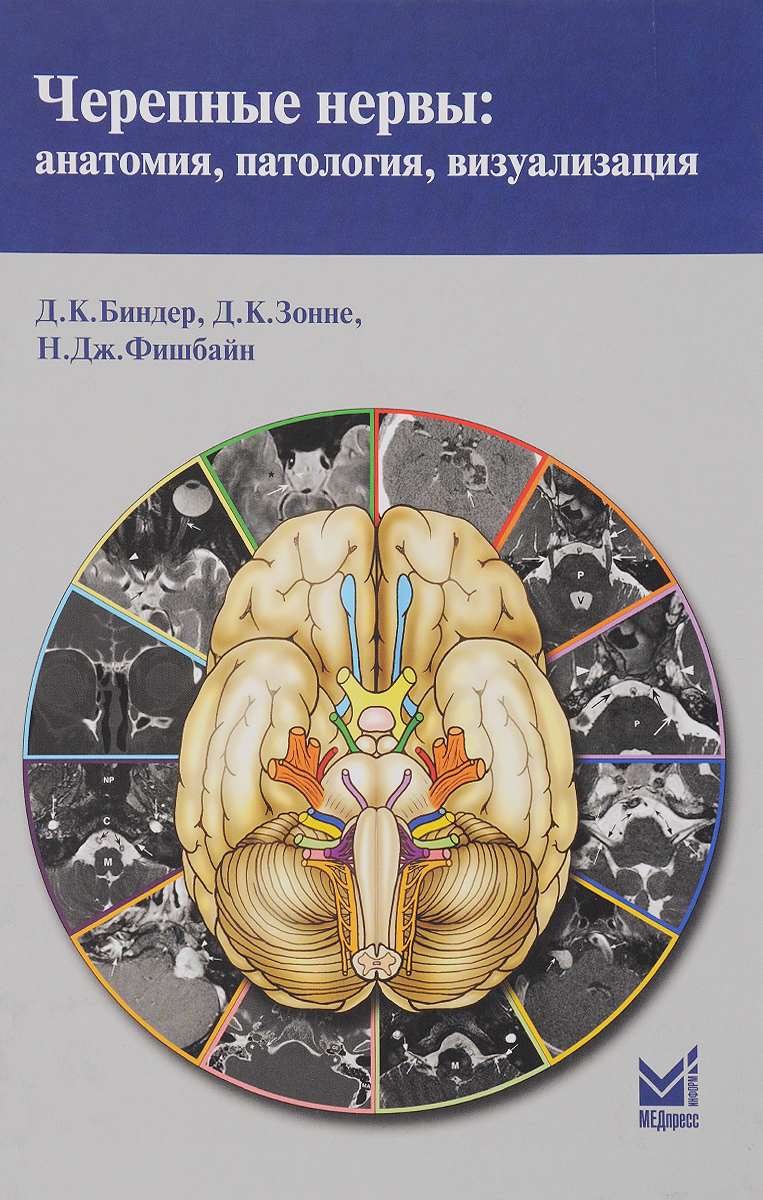 Черепные нервы. Анатомия, патология, визуализация