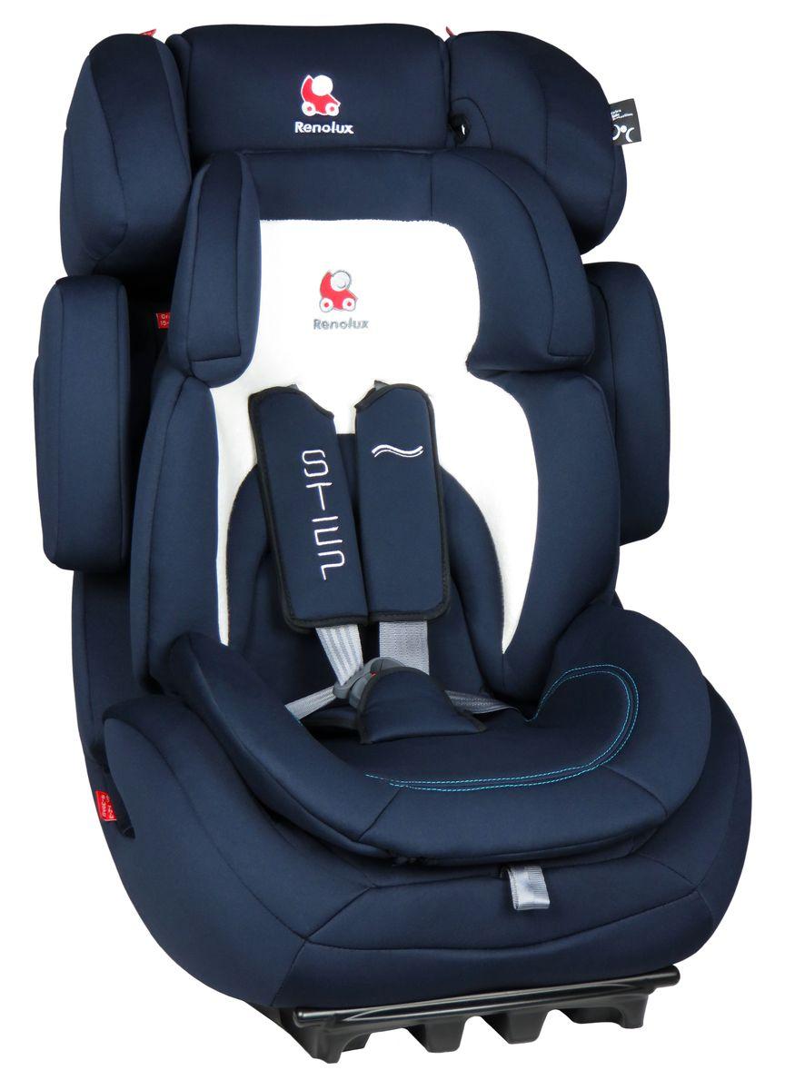 Renolux Автокресло Step 123 Midnight295662Детское автокресло Renolux модель Step 1/2/3 возрастная группа 1/2/3 (от 9 до 36 кг).Надежное детское автокресло предназначено для безопасной перевозки в автомобиле детей весом от 9 до 36 кг, одобрено в соответствии со стандартами ECE R44/04. Супер-адаптируемое кресло, которое растет вместе с вашим ребенком. Широкое и удобное, в нем малыш себя будет чувствовать комфортно даже в длительных путешествиях. Вкладыш-адаптер для группы 1 состоит из двух съемных частей, изготовлен с применением пенополиуретана высокой плотности.Эта модель автокресла получила бронзовый знак отличия по версии английского журнала Mother&Baby (Мама и малыш) в 2015 году.Выбирая эту модель кресла, вы можете быть уверены, что она спроектирована и произведена во Франции.Особенности: подголовник и боковая защита регулируется по ширине и высоте, встроенный в базу усилитель наклона, усиленная боковая защита, внутренние ремни безопасности (регулируются автоматически, вместе с регулировкой высоты спинки автокресла), съемный вкладыш-адаптер для группы 1 из пенополиуретана высокой плотности, ткань из натуральных бамбуковых волокон, простота установки в авто.