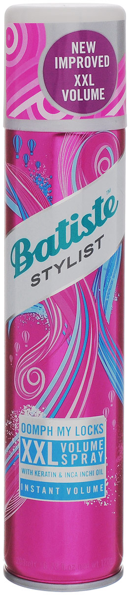 Batiste XXL VOLUME SPRAY Спрей для экстра объема волос 200 мл шампунь элюсьон во фрязино