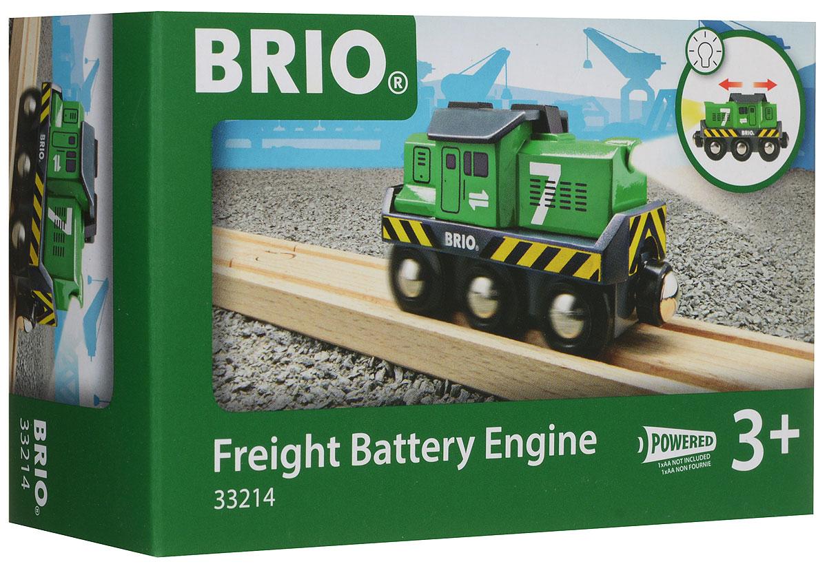 Brio Паровоз-локомотив цвет зеленый - Железные дороги