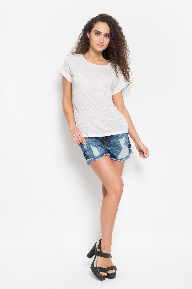 футболка женская tom tailor denim цвет белый черный 1036790 09 71 8005 размер xl 50 Футболка женская Tom Tailor Denim, цвет: белый. 1035540.00.71_8005. Размер M (46)