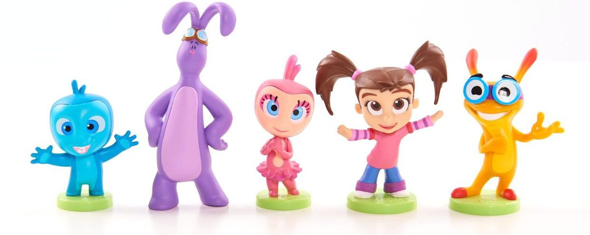 Kate and Mim-Mim Набор коллекционных фигурок 5 шт игрушка плюшевая kate and mim mim катя