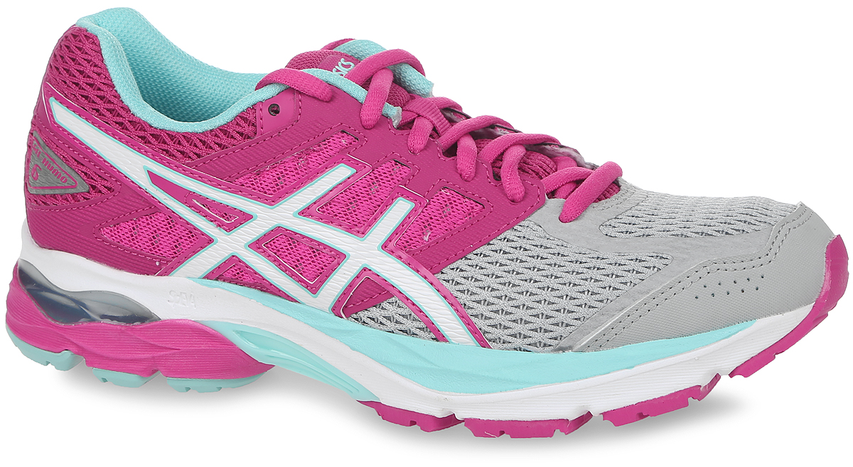 Кроссовки женские Asics Gel-Kumo 6, цвет: розовый. T668N-1901. Размер 6H (36)T668N-1901Новый классический стиль. В модели используются прочные синтетические материалы, вставки из дышащего текстиля обеспечивают отличную вентиляцию. Классическая шнуровка надежно зафиксирует изделие на ноге.Удобные кроссовки - незаменимая вещь в гардеробе спортсменки.