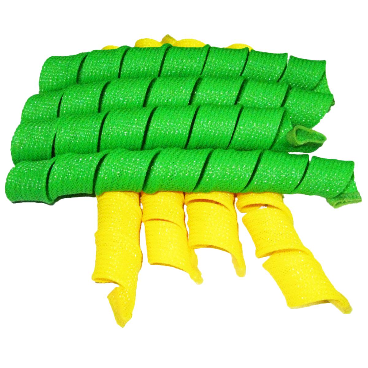 Дива Волшебные бигуди Широкие, 54 см, 18 штДШ54Бигуди этой формы помогают придать объем, быстро и без усилий обзавестись крупными и средними кудрями. Эластичная сеточка из полимерных волокон позволяет получить плавные округлые завитки без заломов. Силиконовые наконечники не дают спиралькам сползать, и при этом легко снимаются с сухих волос.Чтобы получить идеальную прическу, достаточно закрепить бигуди на волосах влажностью 60-70% и просушить их феном или оставить до утра. На мягких Magic Leverag можно проспать всю ночь, не ощущая неудобства. Все 18 широких и длинных бигуди Дива закручиваются в одну сторону, а значит вы легко проконтролируете направление локонов и равномерность укладки. Характеристики:Длина: 54 смШирина локона: 2,2 смДиаметр завитка: 2,5 смКоличество: 18 шт.Крючок: двойнойУпаковка: коробка
