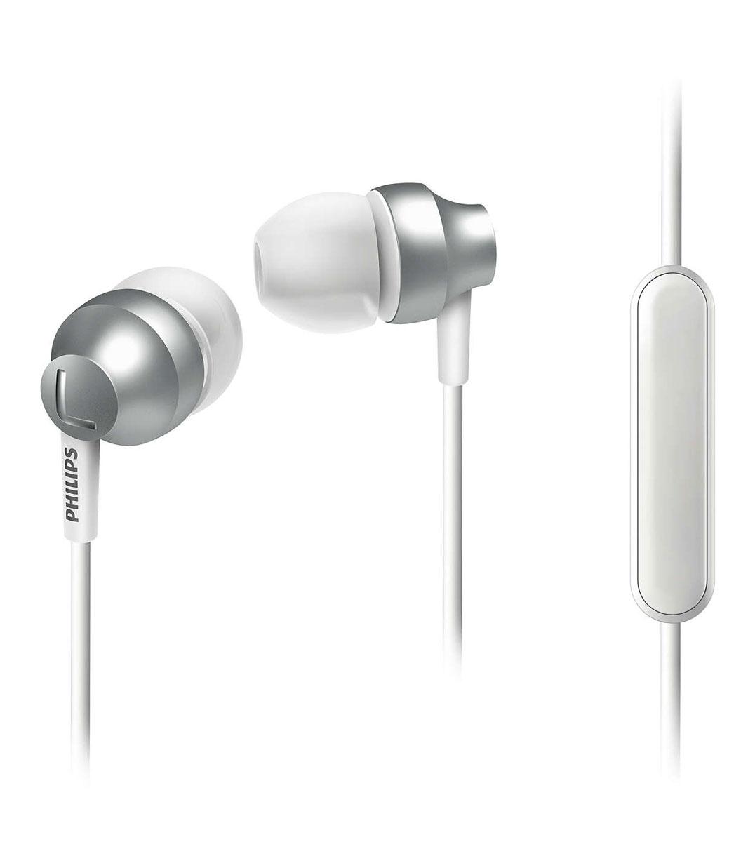 Philips SHE3855SL/00 наушникиSHE3855SL/00Стильные и удобные наушники-вкпадыши Philips Chromz (SHE3855) с превосходным дизайном обеспечивают воспроизведение насыщенных басов. Цвета матовой отделки, выполненной методом вакуумной металлизации, соответствуют цветам iPhone 6s. В комплект входят насадки 3 размеров (маленькие, средние и большие), чтобы вы могли выбрать подходящий вариант для себя.Благодаря встроенному микрофону можно легко переключаться между режимами разговора и прослушивания музыки, чтобы всегда оставаться на связи.Качественная матовая отделка, выполненная методом вакуумной металлизации, обеспечивает дополнительную защиту.Эргономичная овальная звуковая трубка обеспечивает максимально комфортную посадку, подстраиваясь под форму уха.Ультракомпактные наушники с удобной посадкой полностью заполняют ушную раковину и заглушают внешние звуки.Компактные наушники-вкладыши Philips Chromz (SHE3855) с удобной посадкой и мощными излучателями обеспечивают чистый звук и мощный бас.Мягкий резиновый сгиб предотвращает повреждение контактов при многократном сгибании кабеля и продлевает срок службы наушников.