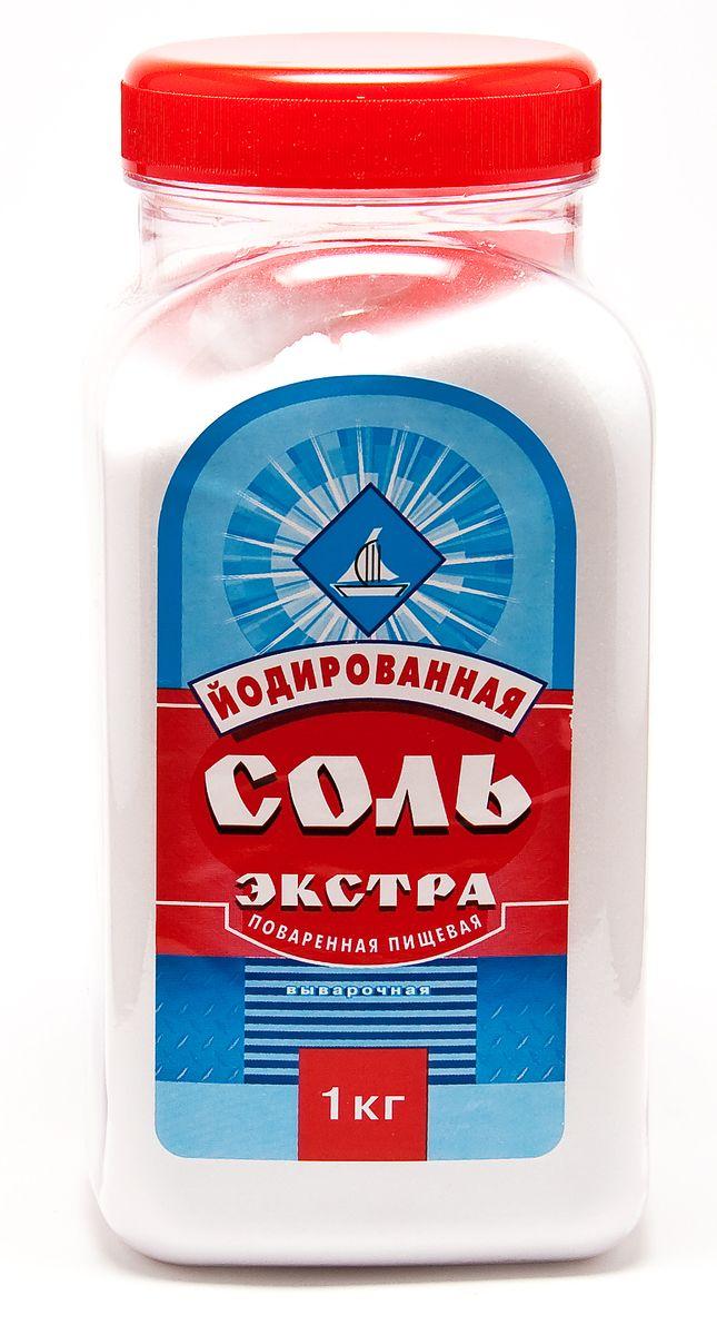 Salina соль экстра йодированная пэт-банка, 1 кг сандалии salina