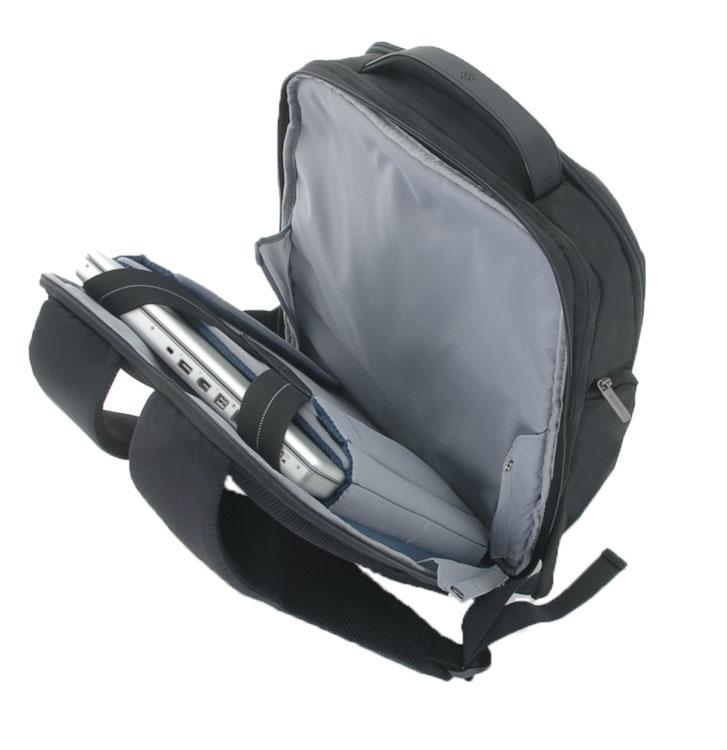 Рюкзак для ноутбука Samsonite Guardit, цвет: черный, 35 х 22 х 44 см80U*09015Рюкзак для ноутбука Samsonite Guardit до 14 изготовлен из полиэстера. Коллекция Guardit является идеальным решением для пользователей ноутбуков,объединяет в себе базовую функциональность с отличным внешним видом. Особенности коллекции: передний карман с внутренней организацией, умный карман, верхняя ручка с прокладкой из неопрена.Размер рюкзака: 35 х 22 х 44 см Объем рюкзака: 16/18,5 л.