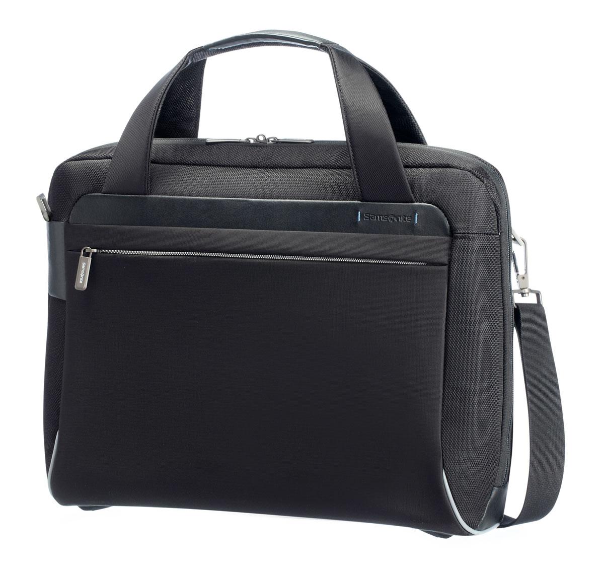 Сумка для ноутбука Samsonite GuardIt, цвет: черный, 42 х 34 х 17 см рюкзак для ноутбука samsonite guardit цвет серый 32 х 22 х 48 см