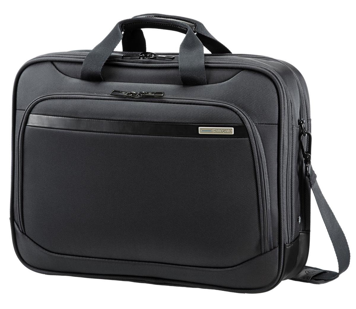 Сумка для ноутбука Samsonite GuardIt, цвет: черный, 45 х 34 х 20,5/24 см рюкзак для ноутбука samsonite guardit цвет серый 32 х 22 х 48 см